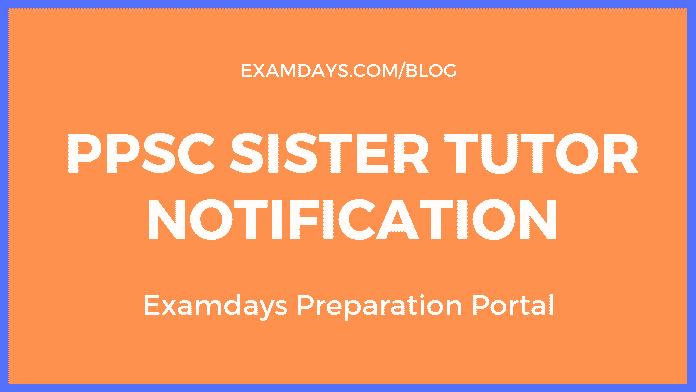 ppsc sister tutor