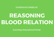 reasoning blood relation
