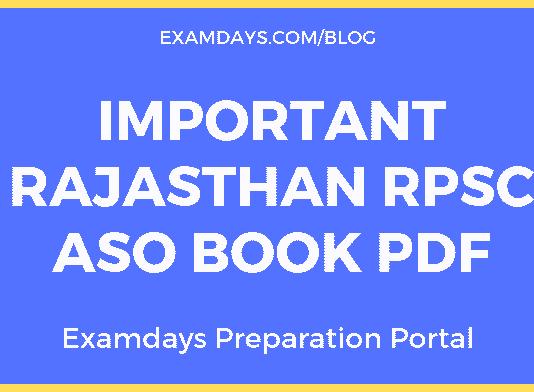 rpsc aso books