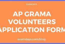 ap grama volunteers recruitment
