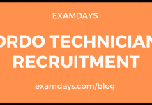 drdo technician recruitment