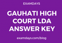 gauhati high court lda answer key
