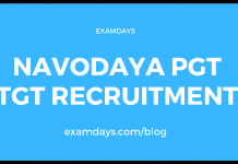 navodaya pgt tgt recruitment