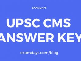 upsc cms answer key