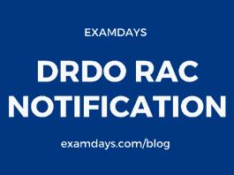 drdo rac recruitment 2020 notification