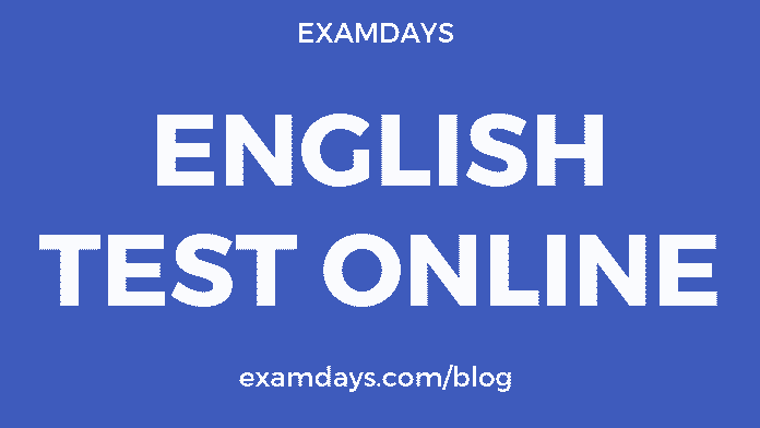 english test online