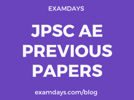 jpsc ae previous year paper