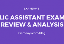 lic assistant exam review analysis