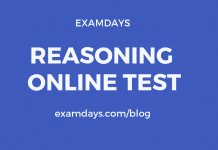 reasoning online test