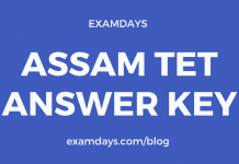 Assam TET Answer Key