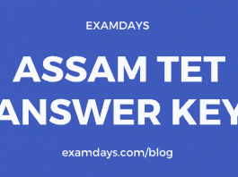 Assam TET Answer Key