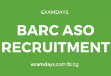 barc aso recruitment
