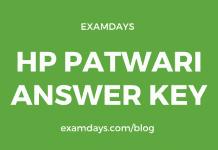 hp patwari answer key