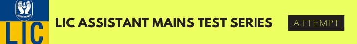 lic assistant mains online test