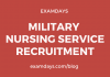 military nurse recruitment