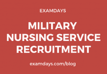 military nurse recruitment