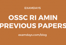 ossc ri amin previous question papers