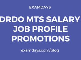 drdo mts salary