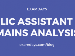 lic assistant mains analysis