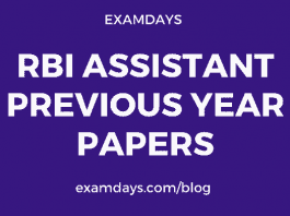 rbi assistant previous year paper