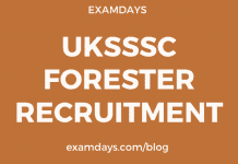 uksssc forest recruitment