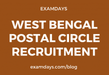 west bengal postal circle gds recruitment