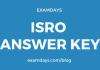 isro answer key