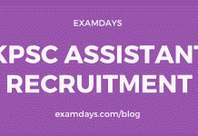 kpsc assistant notification