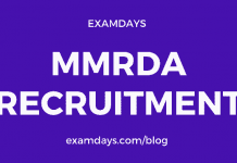 mmrda recruitment notification