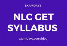 nlc get syllabus