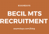 becil mts notification