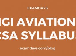 igi aviation csa syllabus