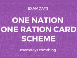 one ration card scheme