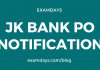 jk bank notification