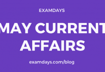 may current affairs