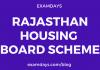 rajasthan housing board new scheme
