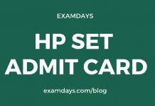 hp set admit card 2020