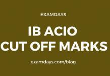 ib acio cutoff marks