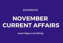 november current affairs 2020 pdf