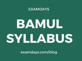 bamul syllabus