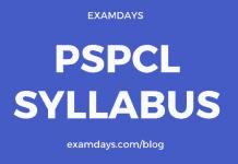 pspcl syllabus