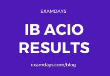 ib acio result