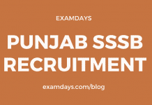 punjab sssb recruitment