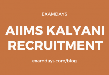 aiims kalyani recruitment