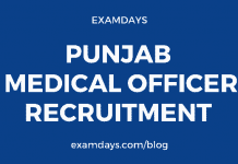 punjab medical officer recruitment
