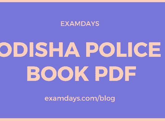 odisha police book pdf