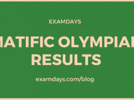 matific olympiad results