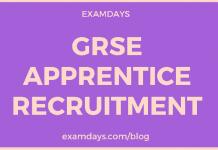 grse apprentice recruitment