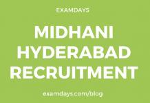 midhani hyderabad jobs