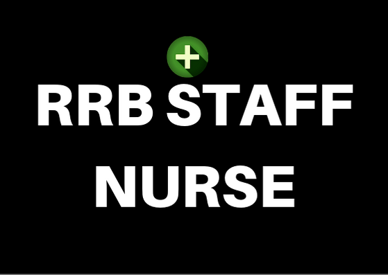 RRB Staff Nurse Online Test